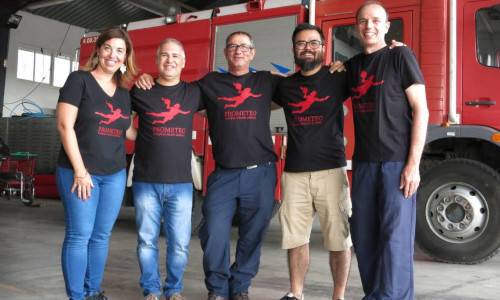 The Prometeo firefighters